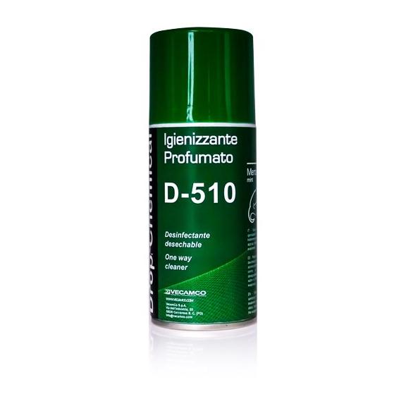 Vecamco D-510 parfémovaný dezinfekční sprej do klimatizace Mint
