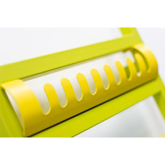 TERMA Simple designový radiátor barva Heban detail