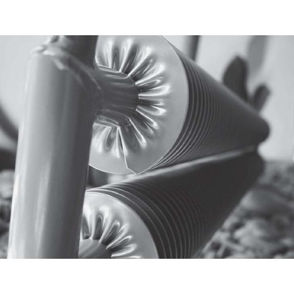 ISAN Spiral RAT3-F radiátor na zem detail
