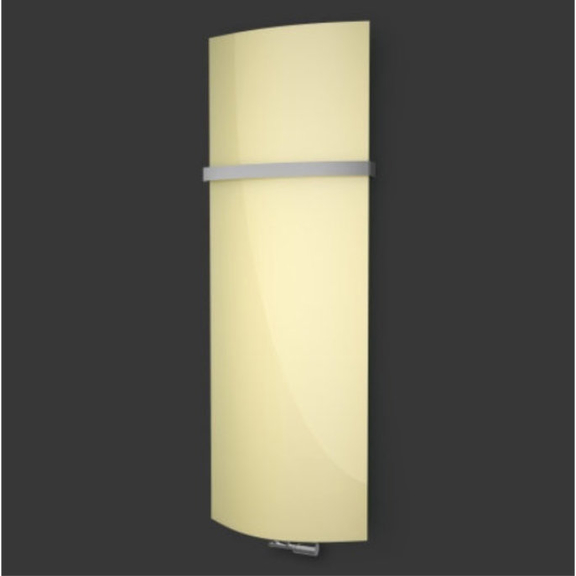 ISAN Variant Glass Pastel Yellow skleněný radiátor