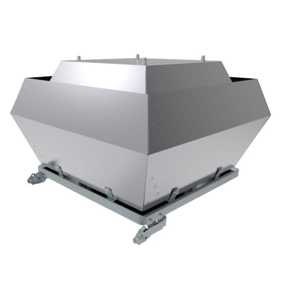 Systemair DVC POC + FTG střešní ventilátor
