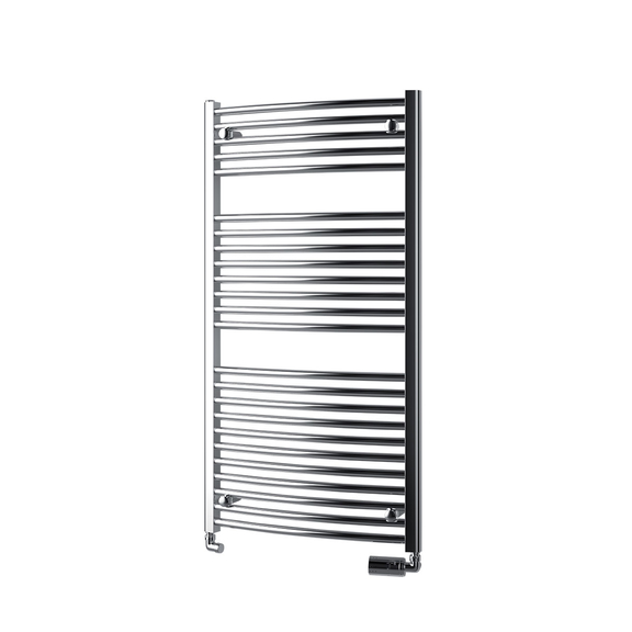 ISAN Palmyra Radius Chrom koupelnový radiátor 1135x600