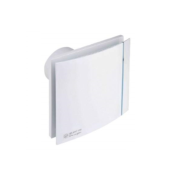 Ventilátor Silent 100 Design CZ bílý1