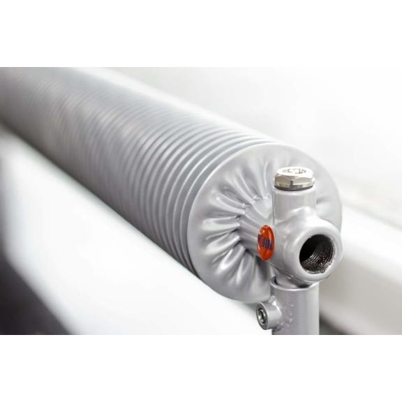 ISAN Spiral RA1-S volně stojící radiátor detail