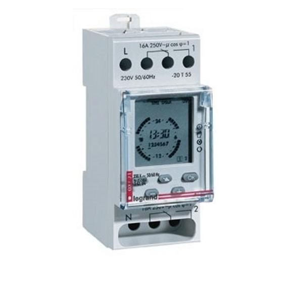 Systemair MicroREX D21Plus časový spínač pro ventilátory