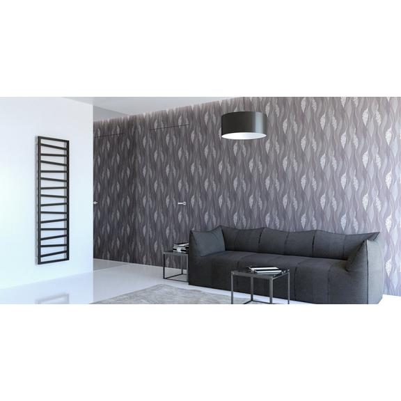 TERMA Zigzag koupelnový radiátor 1780x500 - barva Soft 9005 - inspirace