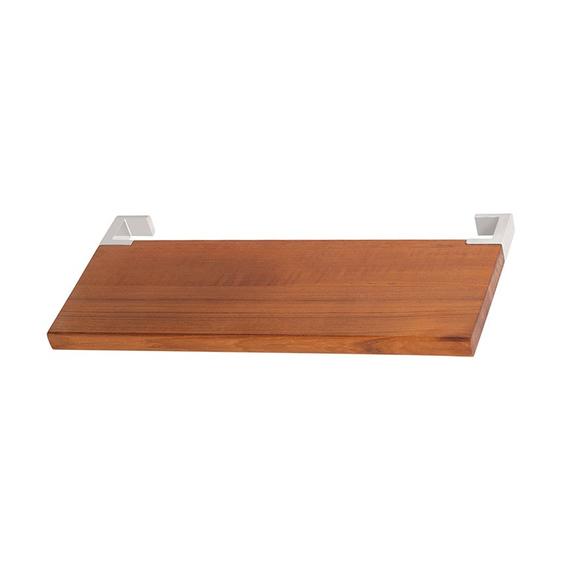 TERMA Dřevěná polička na ručníky Triga 38 cm