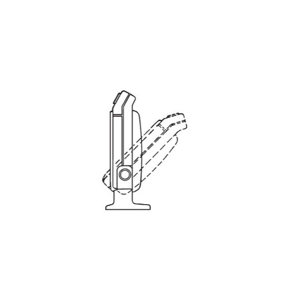 Soler & Palau Meteor NT axiální stolní ventilátor - polohování u podlahové montáže