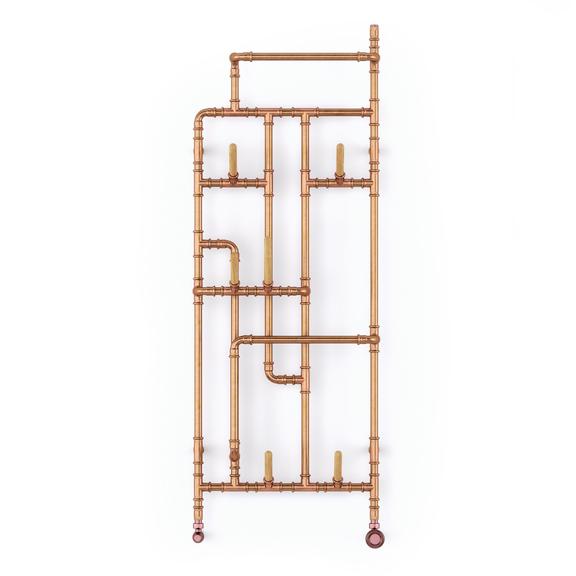 TERMA Pajak designový radiátor 1400x531