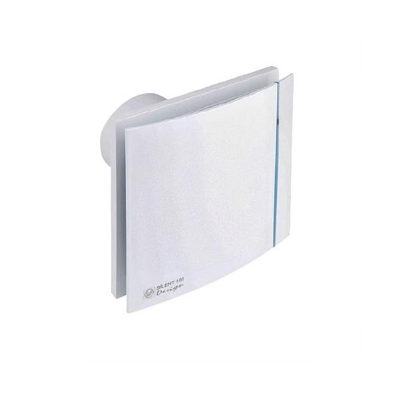 Ventilátor Silent 100 Design 12V CZ bílý