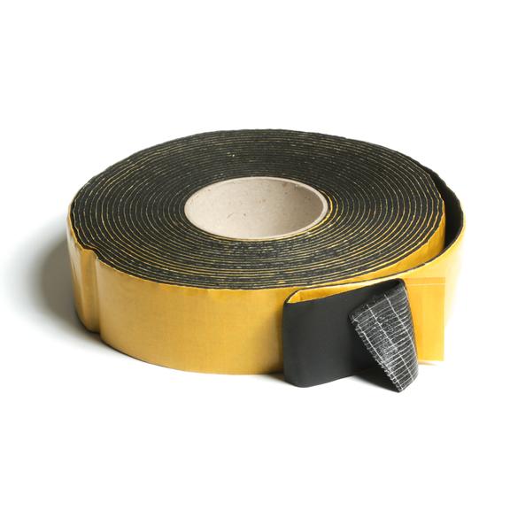 Kaučuková samolepicí izolační páska černá 50x3 mm/10 m
