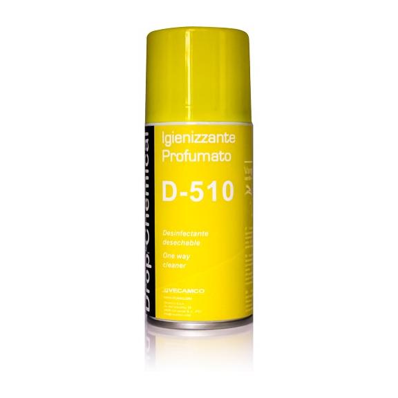 Vecamco D-510 parfémovaný dezinfekční sprej do klimatizace Vanilla