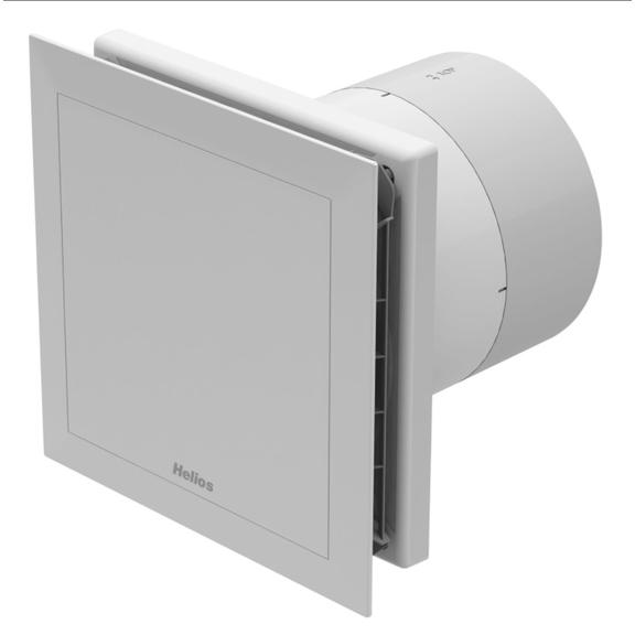 Helios MiniVent M1/150 N/C dvouotáčkový ventilátor s doběhem a interv. provozem