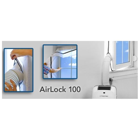 Mobilní klimatizace těsnění oken Trotec Airlock 100