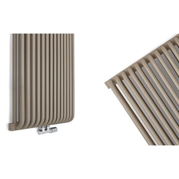 TERMA Delfin designový radiátor horizontální2