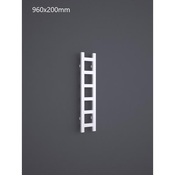TERMA Easy One vertikální radiátor 960x200 RAL 9016