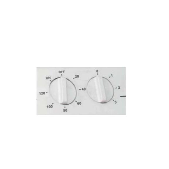 Soler & Palau Meteor NT axiální stolní ventilátor - detail ovládacího panelu