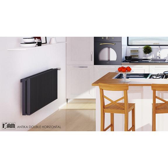 ISAN Antika Double Horizontal radiátor s vysokým výkonem - S02
