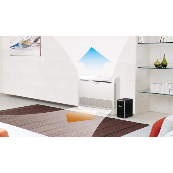 60/5000 Parapetní klimatizace Samsung AC026MNJDKHEU + AC026MXADKHEU