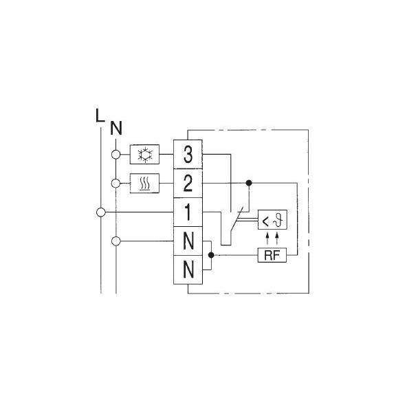 RTR 6721 - schéma zapojení