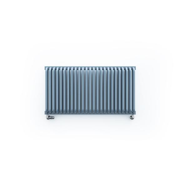 TERMA Delfin designový radiátor 1800x580 Soft white