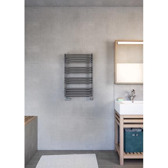 TERMA Alex designový radiátor 760x500 barva Modern Grey