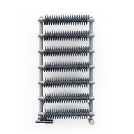 TERMA Ribbon T retro radiátor 930x500 Metallic Grey