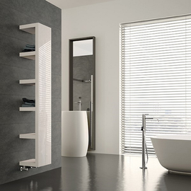 IRSAP Quadraqua designový radiátor 1828x300 L barva Bianco Perla