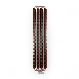TERMA Ribbon V retro radiátor 1920x390 barva Copper- Měď