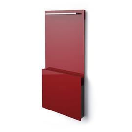 ISAN Joy Bath skleněný radiátor 1495x700
