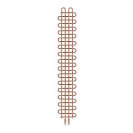 TERMA PLC V designový radiátor 1580x263 barva Copper