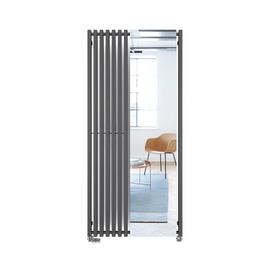 TERMA Triga M designový radiátor se zrcadlem 1700x780 Modern Grey