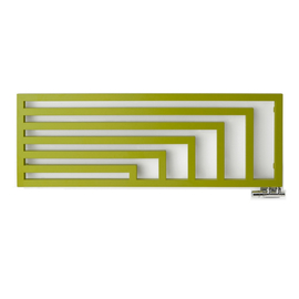 TERMA Angus H designový radiátor barva Soft Green Apple