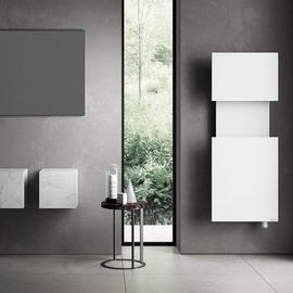 IRSAP M'ama koupelnový radiátor 1400x550 barva Bianco Opaco
