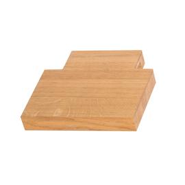 TERMA Dřevěná polička na ručníky Easy 20 cm - dub