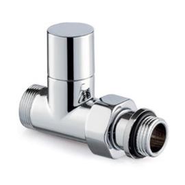 Chromová termosada ventilů Tonder light - přímá