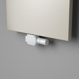 Bílý univerzální středový termostatický venti