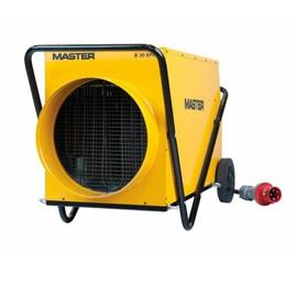 Master B 30 EPR profesionální elektrický ohřívač s ventilátorem a s možností připojení pružné hadice