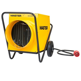 Master B 18 EPR profesionální elektrický ohřívač s ventilátorem a s možností připojení pružné hadice